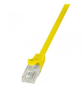 """Patch Cable Cat.5e U/UTP  7,50m yellow """"CP1087U"""""""