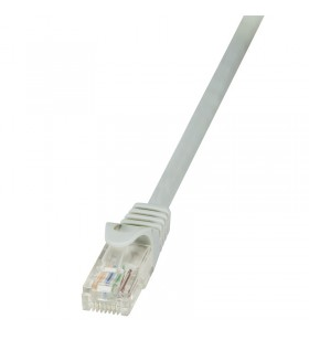 "Patch Cable Cat.6 U/UTP grey 20m EconLine ""CP2112U"""