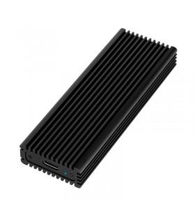 """RACK EXTERN LOGILINK M.2 SSD PCIe to USB3.2 Gen 2x1, Aluminiu, black, """"UA0346"""""""