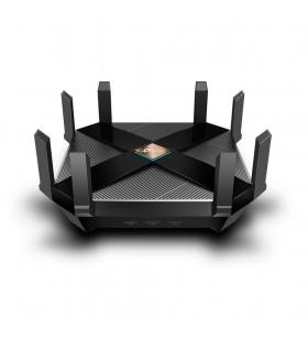 TP-LINK Archer AX6000 router wireless Bandă dublă (2.4 GHz  5 GHz) Gigabit Ethernet Negru