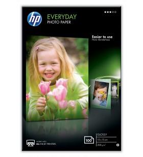 HP CR757A hârtii fotografică Alb Glasată