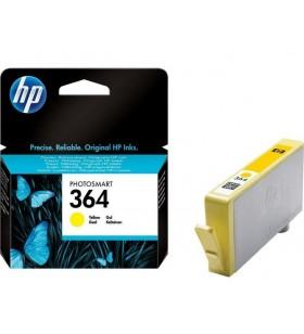 HP 364 Yellow Ink Cartridge Original Galben 1 buc.