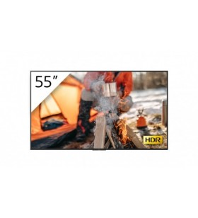 "Sony FWD-55X70H T Afișaj Semne 138,7 cm (54.6"") LED 4K Ultra HD Panou informare digital de perete Negru Linux"