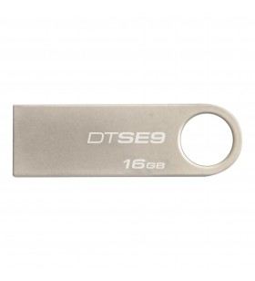 Kingston Technology DataTraveler SE9 memorii flash USB 16 Giga Bites USB Tip-A 2.0 Argint