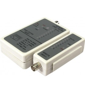 "TESTER CABLU RETEA LOGILINK pt. cablu UTP, FTP si coaxial, ""WZ0011"""