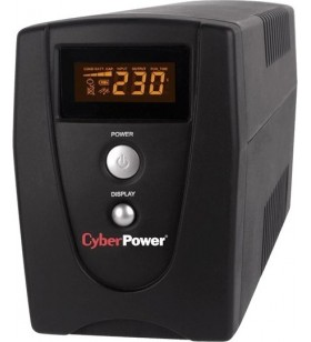 UPS CYBER POWER Line Int. cu management, LCD, tower,  1000VA/ 550W, AVR, 3 x socket IEC, display LCD, 1 x baterie 12V/9Ah, Backu