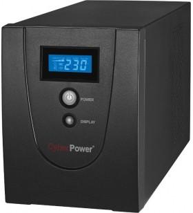 UPS CYBER POWER Line Int. cu management, LCD, tower,  2200VA/ 1320W, AVR, 6 x socket IEC, display LCD, 2 x baterie 12V/9Ah, Back