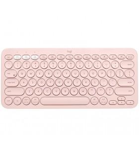 Logitech K380 tastaturi Bluetooth QWERTZ Germană Roz