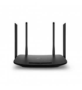 TP-LINK Archer VR300 AC1200 router wireless Bandă dublă (2.4 GHz  5 GHz) Fast Ethernet Negru