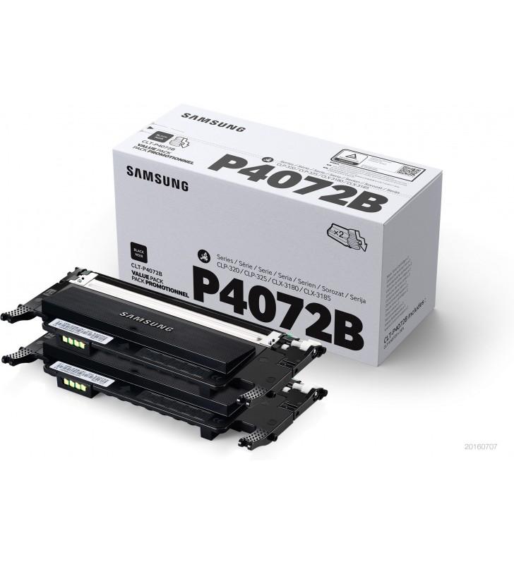 Samsung CLT-P4072B Original Negru 2 buc.