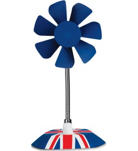 """VENTILATOR ARCTIC de birou Breeze (UK), alimentare USB, control manual, 800~1800RPM """"ABACO-BRZUK01-BL"""""""