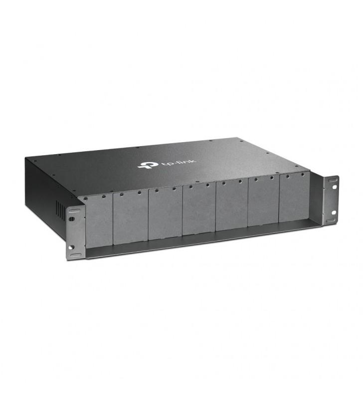 TP-LINK TL-MC1400 carcase pentru echipamente de rețea Negru