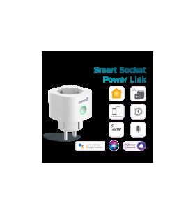 Power Plug Power Link  (white)