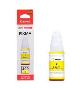 "Cartus cerneala  Original Canon Yellow, GI-490Y, pentru G1400,G2400, G3400, ""BS0666C001AA"""