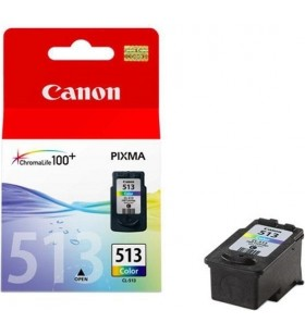 "Cartus cerneala Original Canon CL-513  Color, compatibil MP240/MP260/, 349 Copies ""BS2971B001AA"""