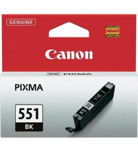 "Cartus cerneala Original Canon CLI-551BK  Black, compatibil IP7250/MG5450/MG6350, ~1645 pag ""BS6508B001AA"""