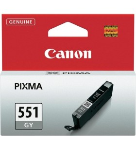 "Cartus cerneala Original Canon CLI-551Gr  Grey, compatibil IP7250/MG5450/MG6350 ""BS6512B001AA"""