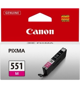 "Cartus cerneala Original Canon CLI-551M  Magenta, compatibil IP7250/MG5450/MG6350, ~330 pag ""BS6510B001AA"""