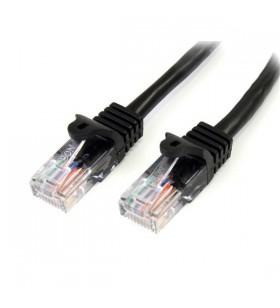 StarTech.com 45PAT7MBK cabluri de rețea 7 m Cat5e U UTP (UTP) Negru