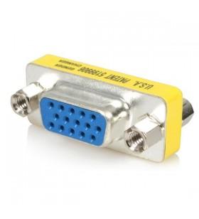 StarTech.com GC15HSF cabluri prelungitoare cu mufe mamă tată VGA Argint