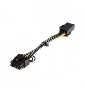 StarTech.com PCIEX68ADAP cablu alimentare energie electrica intern 0,155 m