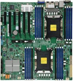 Supermicro X11DPi-NT plăci de bază pentru servere stații de lucru LGA 3647 (Socket P) Prelungit ATX Intel C622