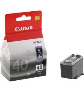 "Cartus cerneala Original Canon PG-40  Black, compatibil iP1600/iP2200/MP150/MP160/MP170/MP180/MP210/MP220, 16 ml ""BS0615B001AA\"