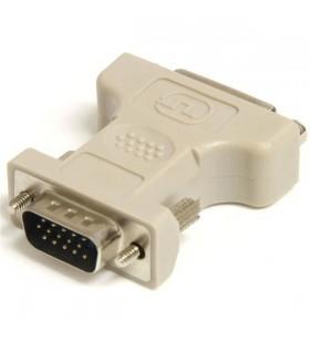 StarTech.com DVIVGAFM cabluri prelungitoare cu mufe mamă tată VGA DVI-I Bej
