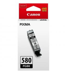 """Cartus Cerneala Original CANON Pigment Black, PGI-580PGBK, pentru PIXMA TS6150/R8550/TS6150/TS8150/TS9150/TS9155, 0.2K, """"2049C0"""