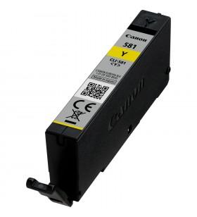 "Cartus Cerneala Original CANON Yellow, CLI-581Y, pentru Canon Pixma TR7550/8550/TS6150/8150/S9150/9155, 0.237K, ""2105C001AA"""