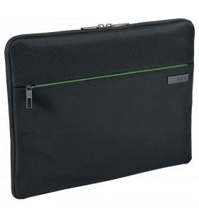 """Leitz 60760095 genți pentru notebook-uri 33,8 cm (13.3"""") Geantă Sleeve Negru, Verde"""
