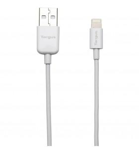 Targus ACC96101EU cablu Lightning 1 m Alb