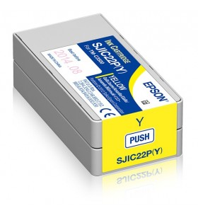 Epson SJIC22P(Y)  Ink cartridge for ColorWorks C3500 (yellow)