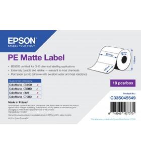 Epson PE Matte Label - Die-cut Roll  102mm x 152mm, 185 labels