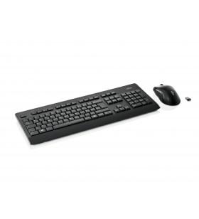 Fujitsu LX960 tastaturi RF fără fir QWERTZ Germană Negru
