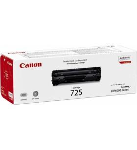 "Toner Original Canon Black, CRG-725, pentru LBP6000, MF 3010, 1.6K, ""CR3484B002AA"""