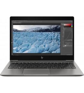 "HP ZBook 14u G6 Stație de lucru mobilă Argint 35,6 cm (14"") 1920 x 1080 Pixel Ecran tactil Intel® Core™ i7 generația a 8a 16"