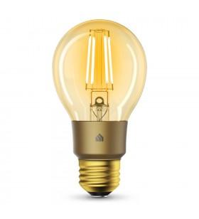 TP-LINK KL60 instrument de iluminare smart Bec inteligent De aur Wi-Fi 5,5 W