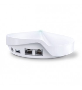 TP-LINK Deco M9 Plus router wireless Bandă dublă (2.4 GHz  5 GHz) Gigabit Ethernet Alb