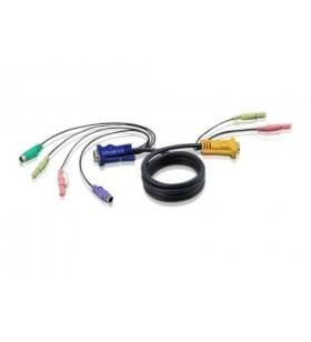 Cablu PS/2 Kvm 3in1Cu SPHD...