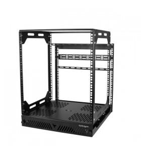 StarTech.com PORACK12U rack-uri 12U Raft de sine stătător Negru