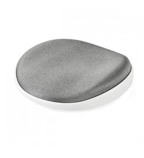 StarTech.com ROLWRSTRST suporturi pentru încheietura mâinii Spumă, Plasă, Din material plastic Argint, Alb