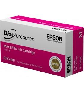 Epson Discproducer Ink Cartridge, Magenta (MOQ10)