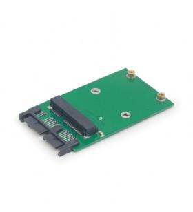 "ADAPTOR GEMBIRD mini S-ATA 3 la micro S-ATA 3, adaptor pt. SSD, ""EE18-MS3PCB-01"""