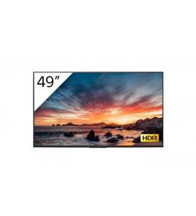 """Sony FWD-49X80H T Afișaj Semne 123,2 cm (48.5"""") IPS 4K Ultra HD Panou informare digital de perete Negru Procesor încorporat"""