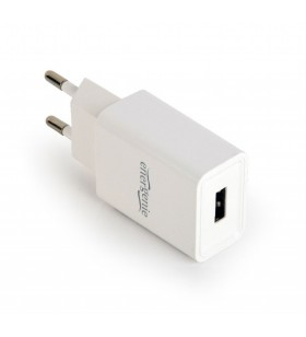 "ALIMENTATOR retea 220V GEMBIRD, universal, 1 x USB, 2.1A, alb, ""EG-UC2A-03-W"""