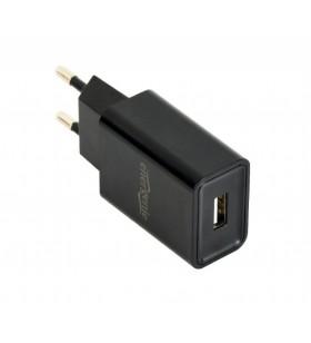 """ALIMENTATOR retea 220V GEMBIRD, universal, 1 x USB, 2.1A, negru, """"EG-UC2A-03"""""""