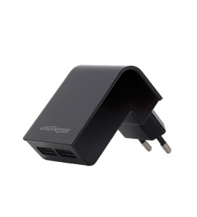 "ALIMENTATOR retea 220V GEMBIRD, universal, 2 x USB, 2.1A, negru, ""EG-U2C2A-02"""