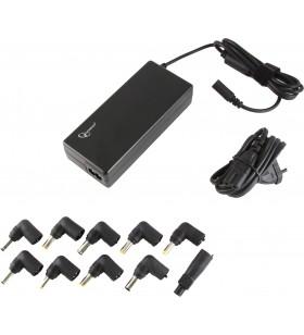 ALIMENTATOR Notebook Universal AC-DC, GEMBIRD, 90W - tensiuni 15V/16V/18V/19V/19.5V/20V DC la 4.5 A max, protectie la supratensi