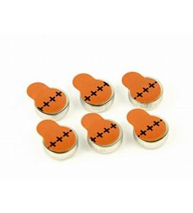"""BATERIE GEMBIRD, butoni (ZA312), 1.4V zinc, 6 buc., """"EG-BA-ZA312-01"""""""